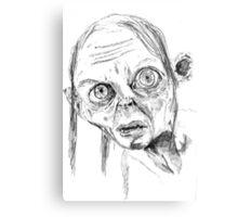 Smeagol/Gollum Metal Print