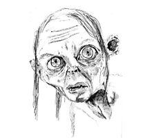 Smeagol/Gollum Photographic Print