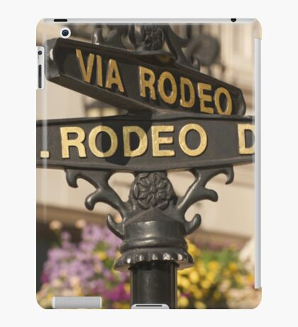 RODEO DRIVE, DAHLING! iPad Case/Skin