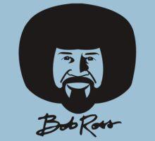 Bob Ross - Black by epainter