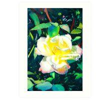 Piemonte Rose Art Print