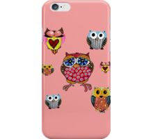 Owl Collage iPhone Case/Skin