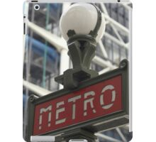 METRO SIGN iPad Case/Skin