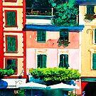 Portofino Cafe by Donna Jill Witty