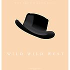 Wild Wild West Movie Poster by Nick Sexton