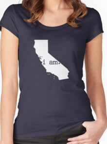 i am california Women's Fitted Scoop T-Shirt