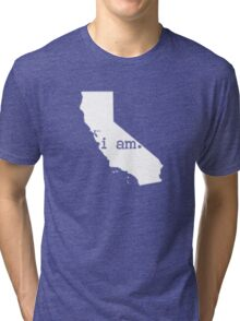 i am california Tri-blend T-Shirt