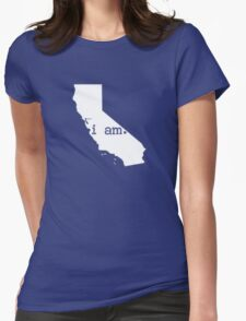 i am california Womens Fitted T-Shirt