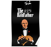 the bald father Poster