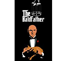 the bald father Photographic Print