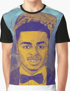 D'Angelo Russell - Lakers 2nd Pick Graphic T-Shirt