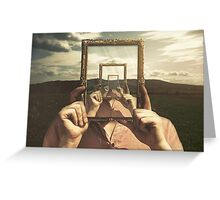 Empty Frame Greeting Card