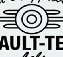Fallout 4 - Vault TEC tested Sticker