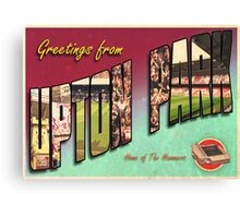 Greetings from Upton Park (West Ham FC) Canvas Print
