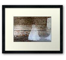 Ghostly Bride Framed Print