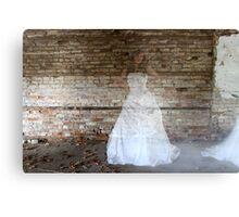 Ghostly Bride Canvas Print