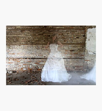 Ghostly Bride Photographic Print