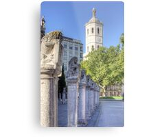 Valladolid Sculptures Metal Print