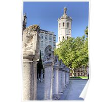 Valladolid Sculptures Poster