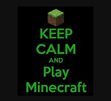 Keep calm and play Minecraft T-Shirt
