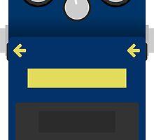 Boss BD-2 Blues Driver Pedal by d13design