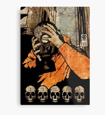 Leroy And The Five Dancing Skulls Of Doom Metal Print