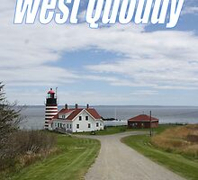 West Quoddy Lighthouse by MarquisImages