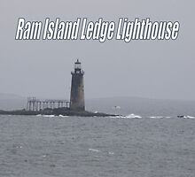 Ram Island Ledge Lighthouse by MarquisImages