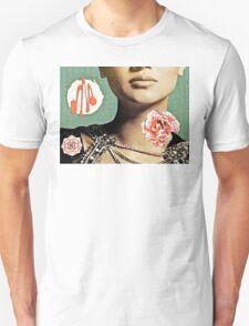 French Antique Fleur Unisex T-Shirt