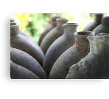 Jar Collection  Canvas Print