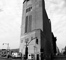 Holland Tunnel Ventilation Tower by steeber