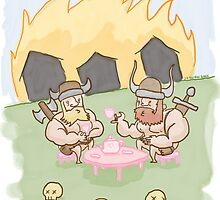 Viking Tea PARTY by thesnuttch