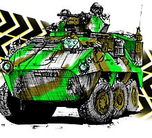 Modern Army APC by olivercook