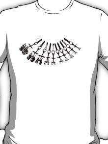 Rock Climbing Necklace T-Shirt