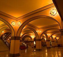 Auditorium Theatre Lobby by Adam Bykowski