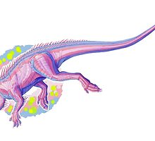 Transgender Tenontosaurus (without text)  by R.A.  Faller