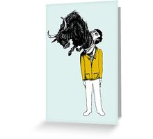 What is Likely to Happen When One is Full of Bull Greeting Card