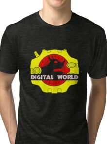Digital World Tri-blend T-Shirt