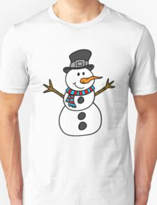 Snowman with hat T-Shirt