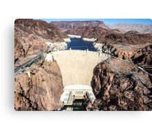 Hoover Dam - Lake Mead Canvas Print