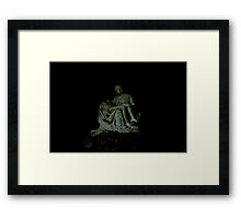Replica of Pieta Framed Print