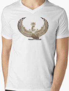 Isis Papyrus - Egyptian Art Mens V-Neck T-Shirt