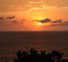 Nuevo Vallarta Sunset by Morgan Booker