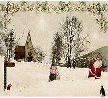 Going Home for Christmas... Photographic Print