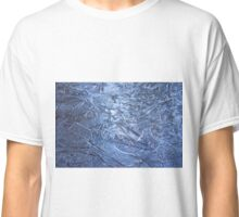 Nature sculptured blue ice figures Classic T-Shirt