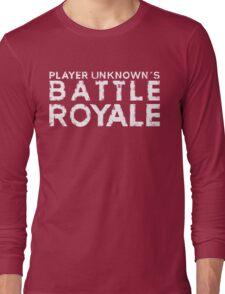 H1Z1 - Battle Royal White Long Sleeve T-Shirt