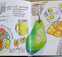 from the food diary: 27/11 by Evelyn Bach