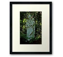 St. Joseph With Child Jesus Framed Print