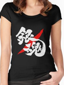 Gintama Logo  Women's Fitted Scoop T-Shirt