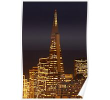 Christmas Tree - San Francisco Style Poster